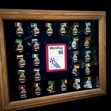 Soccer World Cup USA 1994,  Coca Cola complete national teams pin collection