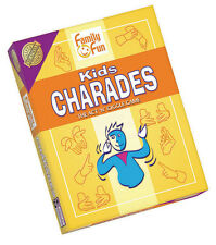 KIDS CHARADES - THE ACT 'N' GIGGLE GAME - FAMILY FUN ACTING GAME OUTSET MEDIA