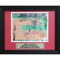 Scotty Thurman Autographed Arkansas Razorbacks 1994 Basketball 8x10 Framed Photo