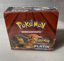 Pokemon Platin Ultimative Sieger - Booster Box / Display - LEER - deutsch