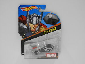 "1:64 Hot Wheels Marvel Character Cars ""Thor"" Hot Wheels BDM75"