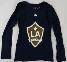 Los Angeles Galaxy MLS adidas Girls Long Sleeve Shirt