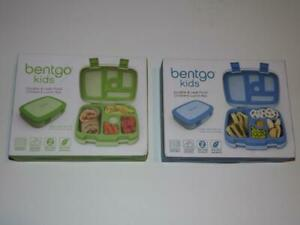 2 BENTGO KIDS CHILDRENS LUNCH BOX- BENTGO-STYLED LUNCH SOLUTION PACKING DURABLE!