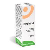 Blephasol Lotion 100ml for Blepharitis sensitive eyelids dry eye by Thea BNWT