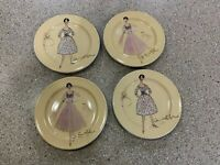 ROSANNA PLATES MADE IN ITALY SET OF 4