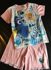 Girl 2 Piece Pyjamas or T Shirt/Shorts set with Finding Dory / Nemo detail