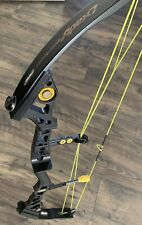 """Mathews Conquest Apex 7 Compound Bow Target Competition Black 28.5"""" 50-60# RH"""