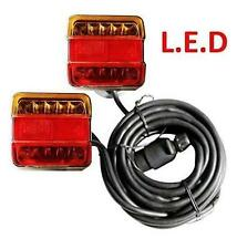 LED De Luces De Remolque Lámpara de Base Magnética Trasera 7.5M & 2.5M Placa Trasero Cable Remolque