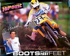 ☆ Rare ☆ Vintage Bob Hannah ☆ Hi Point Racing ☆ BRAND NEW OLD STOCK ☆ 1989 / 90