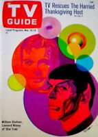 TV Guide 1967 Star Trek Leonard Nimoy Spock William Shatner Kirk #764 NM/MT COA