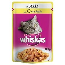 Whiskas Pouch in Jelly with Chicken 100 g (Pack of 24)
