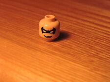 Lego Batman NIGHTWING minifigure HEAD ONLY- 7785 Arkham Asylum- ULTRA RARE NEW