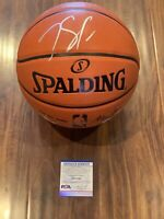 Karl Anthony Towns Autographed Ball Minnesota Timberwolves PSA COA