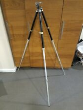 Linhof Minchen Tripod Germany Professional Black Heavy Duty Tilt Head