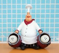 New Home Decor Kitchen Bar Restaurant Ornament Figure Statue Chef Toothpick Jar