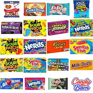 American Candy Sweets - Choose your Sweets - Jolly Rancher - airheads - nerds