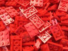 Lego 3021-10 New Piezas de Rojo 2x3 Plato Ladrillos