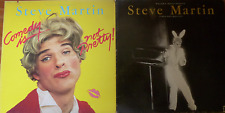 USA 70's 2 x COMEDY LP LOT-steve martin-comedy is not pretty/ wild and crazy guy