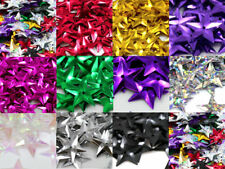15g STAR 15mm SEQUINS EMBELLISHMENTS *11 COLOURS SEWING CARD CRAFTS TRIMMING ART
