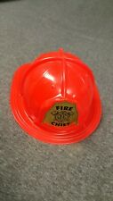 Vintage Tim-Mee Toys Fireman's Hat Fire Chief Good Condition