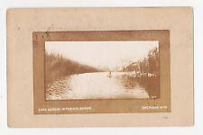 Sheridan,Wyoming,Lake Geneva in the Big Horns,Fishing,Sheridan County,Used,1907
