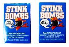 Stink Bombs Glass Viles Smells Bad Rotten Egg Fart Joke Gag Gift Trick Prank 6pk