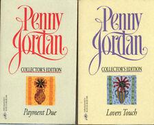 'PENNY JORDAN'  Romance Novels -TWO Paperbacks -Lot 25