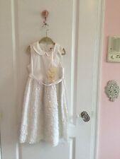 NWT Monnalisa dress girls 122 7  Italy $$$
