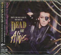 DEAD OR ALIVE-THAT'S THE WAY I LIKE IT: THE BEST OF DEAD OR ALIVE-JAPAN CD D73