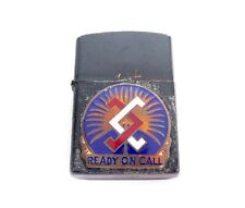 "VINTAGE US ARMY RESERVE ""READY ON COMMAND"" CREST SIGNED LIGHTER * MILITARY"