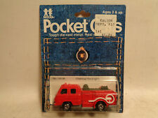 Vintage Tomy Pocket Cars #145-94 Chemical Fire Engine New In Sealed Package