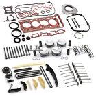 Engine Rebuild Overhaul Valves Kit For Vw Audi S3 Tts Golf R Mk7 2.0 Tsi Cjx Dnu