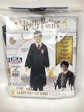 New Child Harry Potter Hooded Robe Costume Medium 8-10