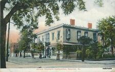 1929 General Shermans Headquarters Savannah Georgia American postcard 4445