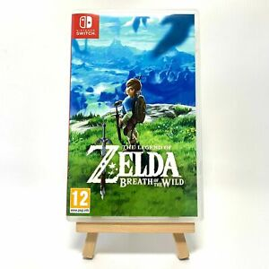 Zelda Breath Of The Wild - Reproduction Box Only NO Game Switch Cover Art & Case
