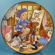 Carol Lawson Collector Plate ART CLASS 1993 Japan Franklin Mint