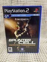 Tom Clancy's Splinter Cell: Pandora Tomorrow (PS2) PEGI 12+ Adventure Ex Cond
