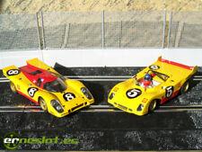 Porsche 917K - Ferrari 312PB TEAM SHELL coches de slot 1/32