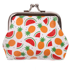 Pineapples Design Tic Tac Coin Change Purse Ladies Kids Girls Party Bag PUR28