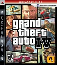 PLAYSTATION 3 PS3 GAME GRAND THEFT AUTO IV 4 BRAND NEW