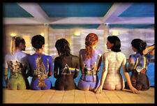 (FRAMED) PINK FLOYD BACK CATALOGUES POSTER 96x66cm ART PRINT PICTURE BRAND NEW