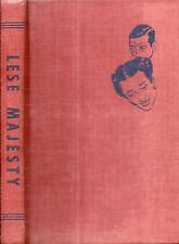 RARE 1952 LESE MAJESTY PRIVATE LIVES DUKE & DUCHESS OF WINDSOR ILLUSTRATED 1ST