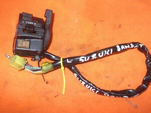SUZUKI  GSF 400 BANDIT 1996  LEFT HANDLE BAR SWITCH  UNIT.