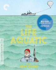 The Life Aquatic Criterion Collection Blu-ray Wes Anderson Movie