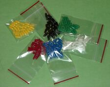 150pcs  Caps / Covers for Miniature Toggle Switch Covers NEW 25 to 26 pcs each