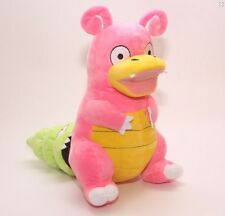 "Pokemon Center Slowpoke Slowbro Figure Plush Soft Toy Stuffed Doll 12"""