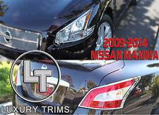 Maxima Chrome Headlight Taillight Trim Bezel Combo by Luxury Trims 2009-2015