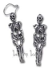 Goth : Alchemy Boucle d' Oreille Squelette Skeleton Gothique