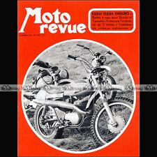 MOTO REVUE N°2058 SUZUKI 500 PEM 125 ★ OSSA 250 YAMAHA TD2 Francisco Tombas 1972