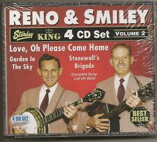 "RENO & SMILEY, 4 CD SET ""VOLUMN 2"" NEW SEALED"